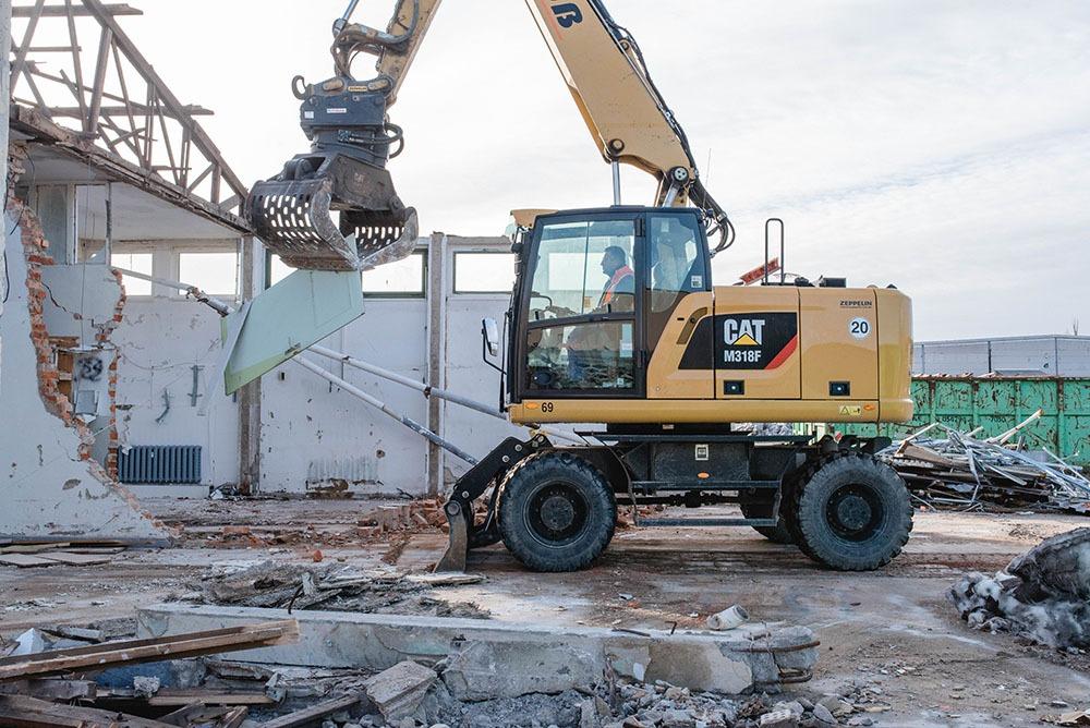 Süß Bau GmbH I Qualität I Zuverlässigkeit I Erfahrung I Abbrucharbeiten